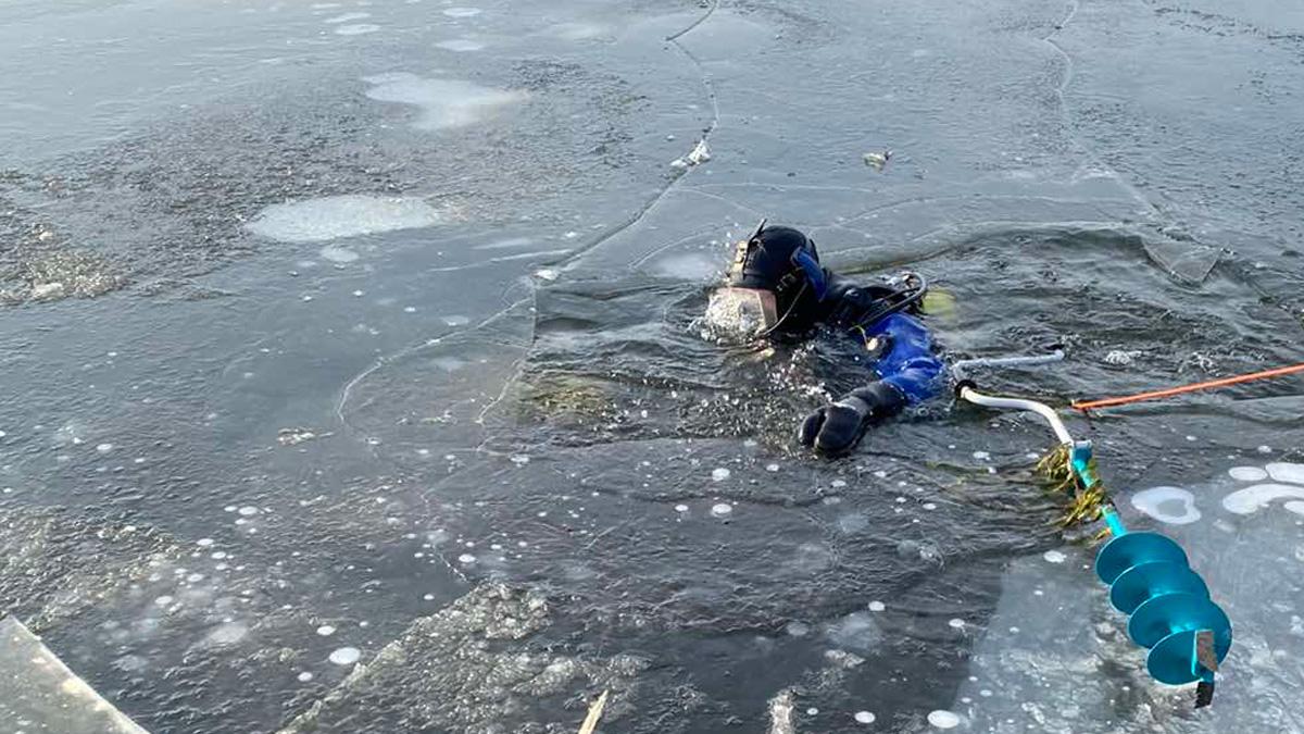В Самарской области рыбак провалился под лед и утонул