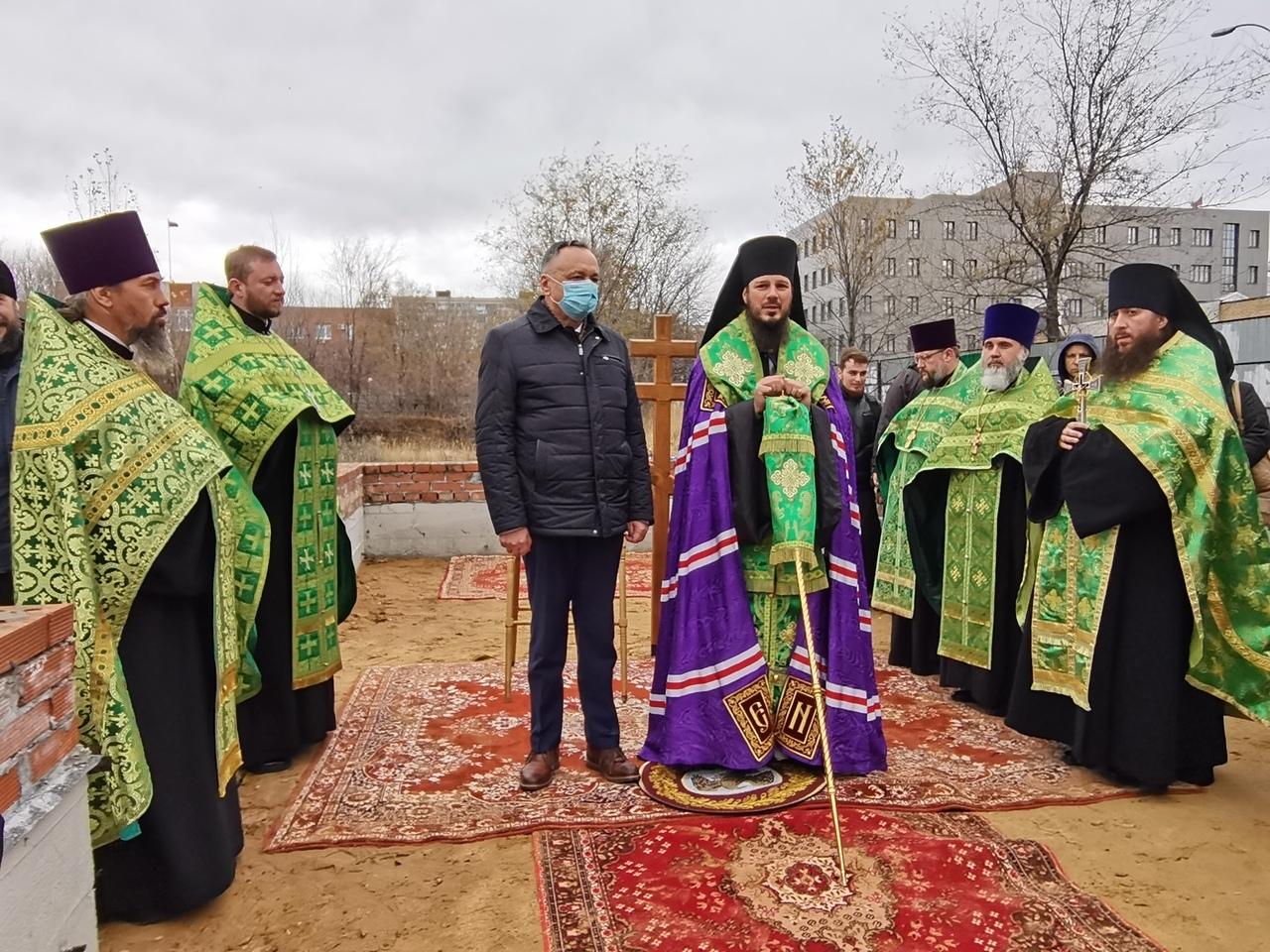 В Тольятти заложили новый храм