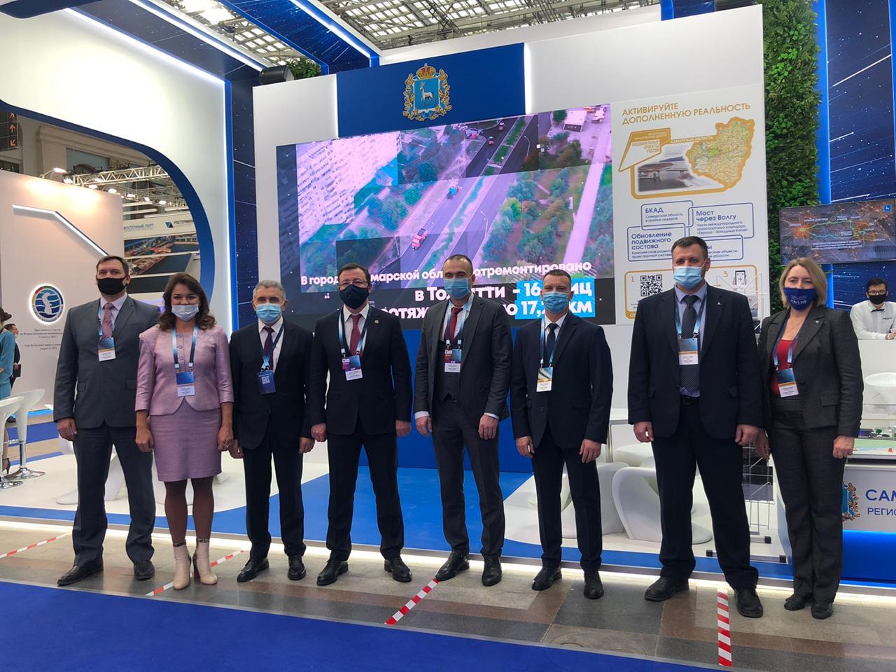 Самарская область представила свои главные проекты в сфере дорожного строительства в Москве
