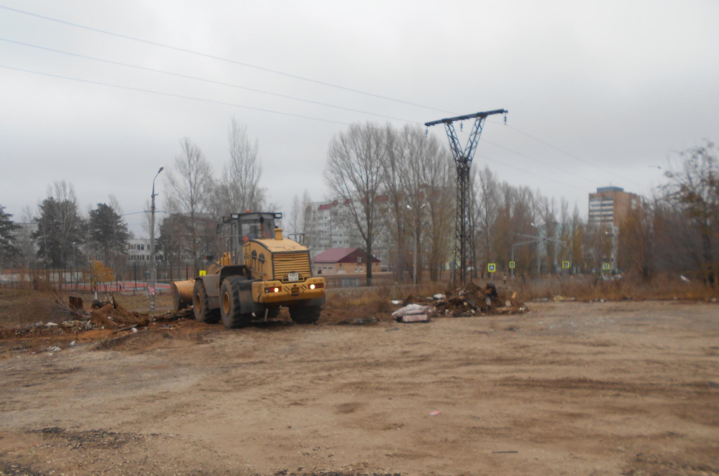 В Комсомольском районе Тольятти убрали три нелегальные свалки