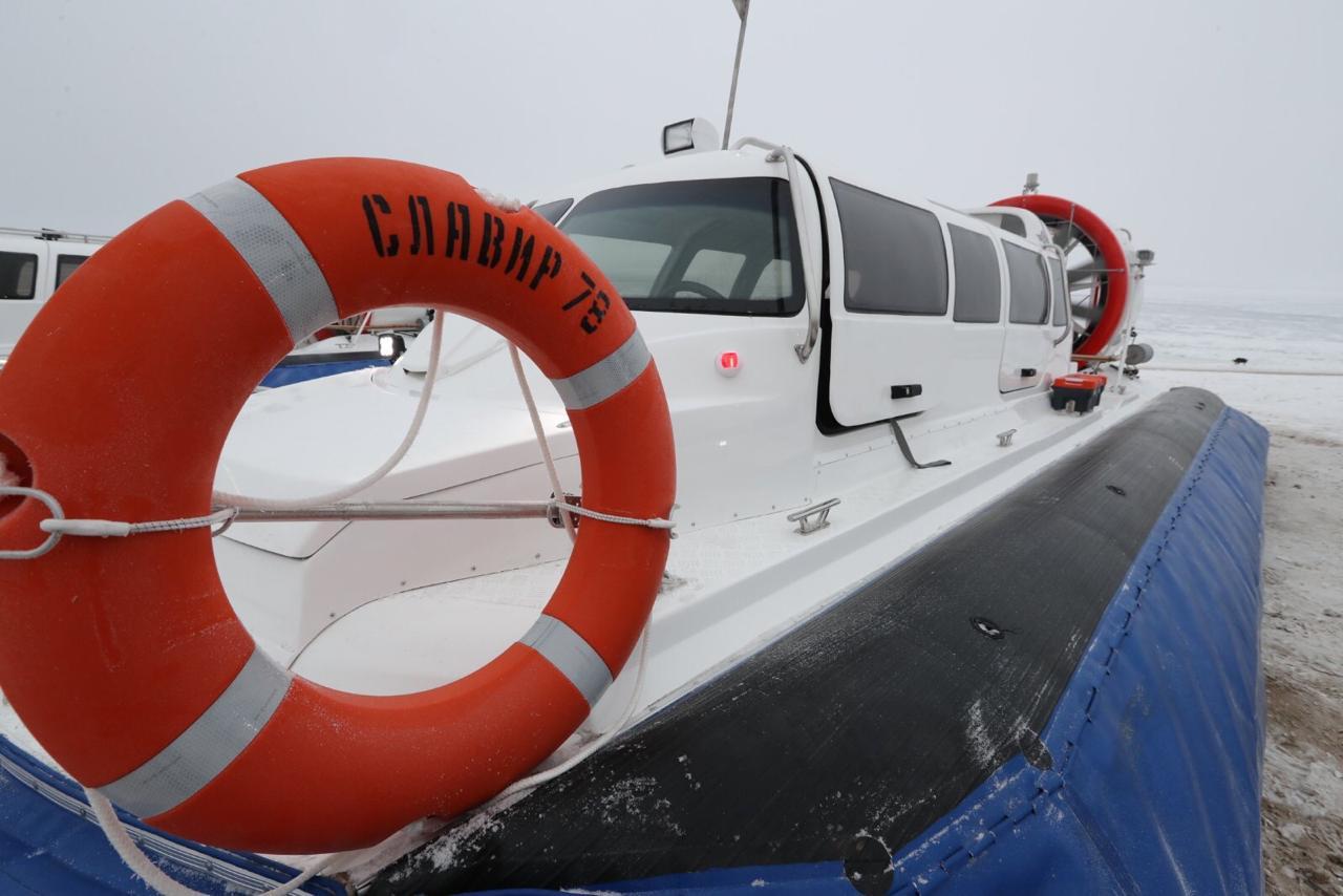 По маршруту Самара – Рождествено пустят новые суда на воздушных подушках