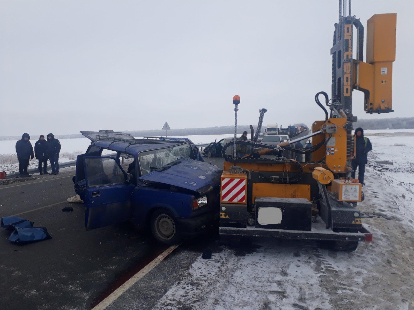 В полиции сообщили подробности аварии со сваебойной машиной в Самарской области