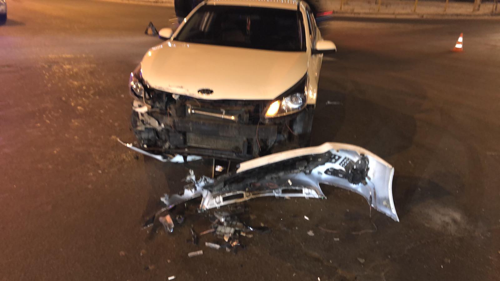 В Тольятти в аварии двух Kia пострадала женщина-водитель