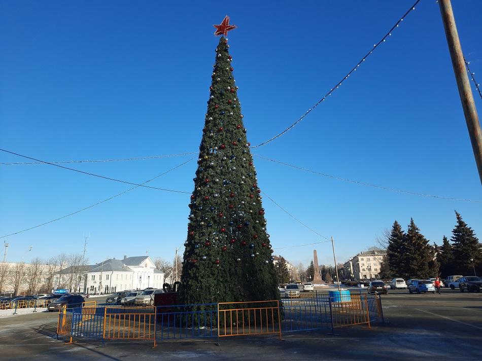 На улицах Тольятти к Новому году установят 8 праздничных елей