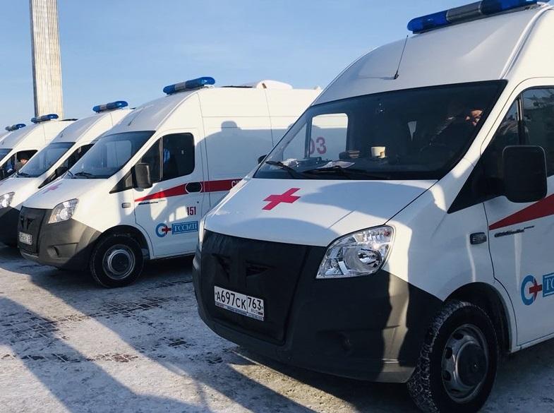 800 выездов в сутки делают бригады скорой помощи в Тольятти