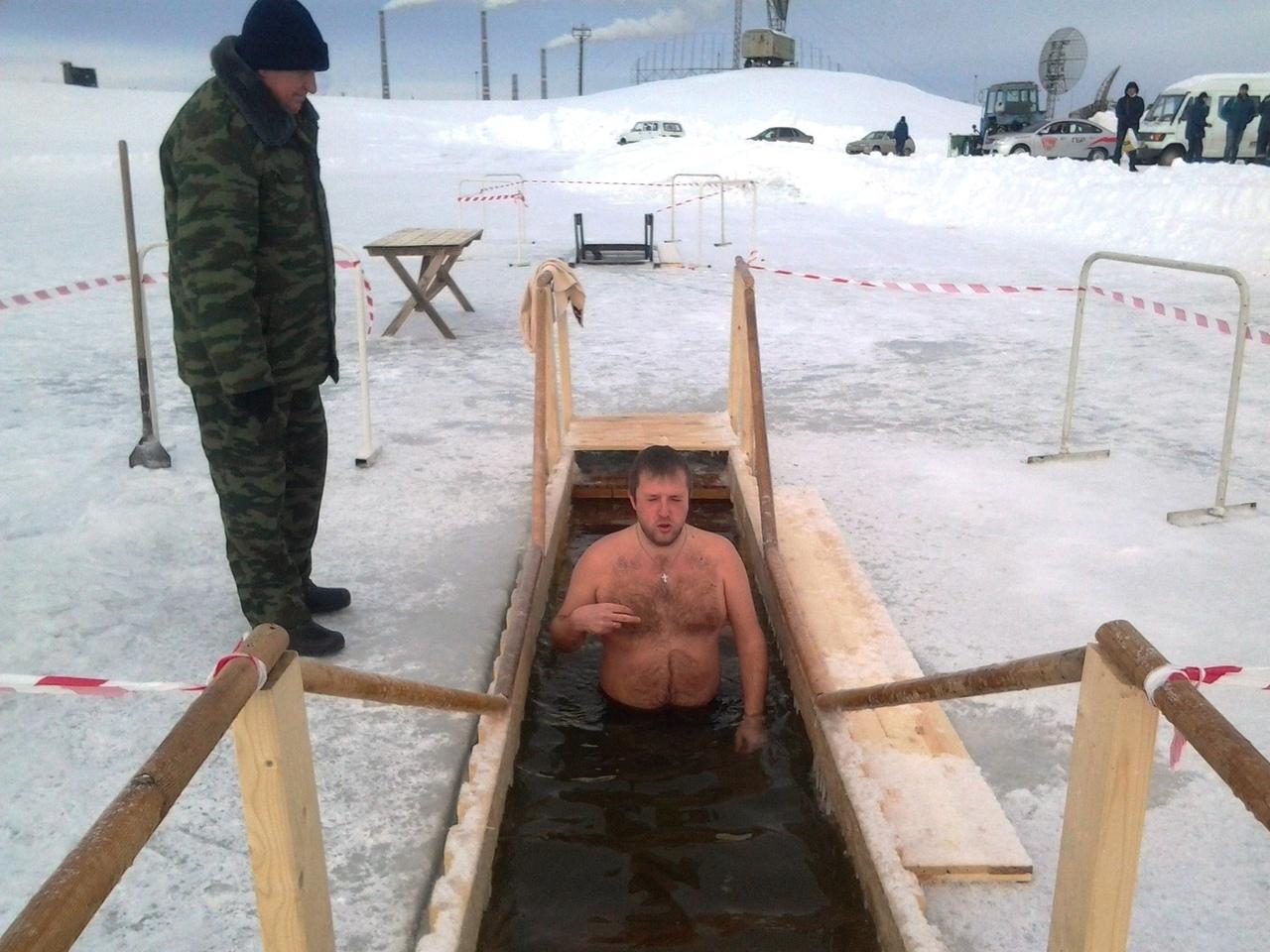 Открестились: в Тольятти не будут проводить купание в проруби из-за коронавируса