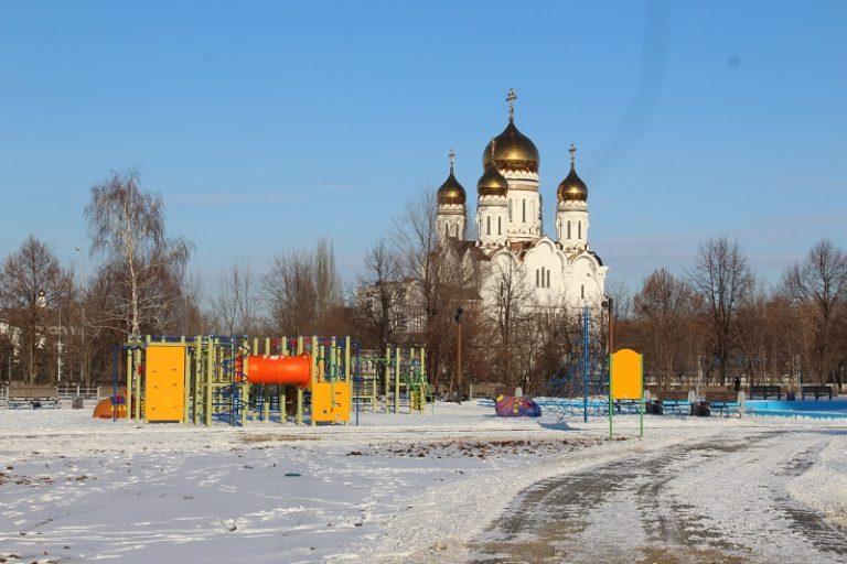 В Тольятти благоустроили 13 дворов и 6 общественных пространств