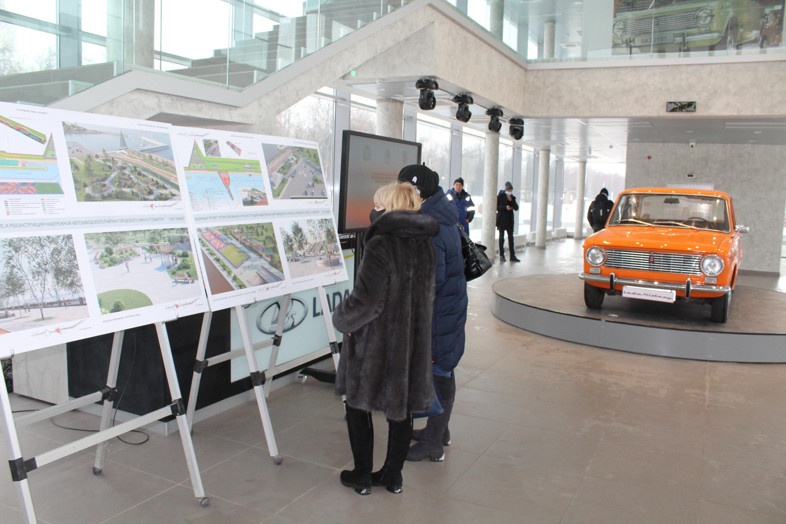 Представлен проект новой набережной в Тольятти