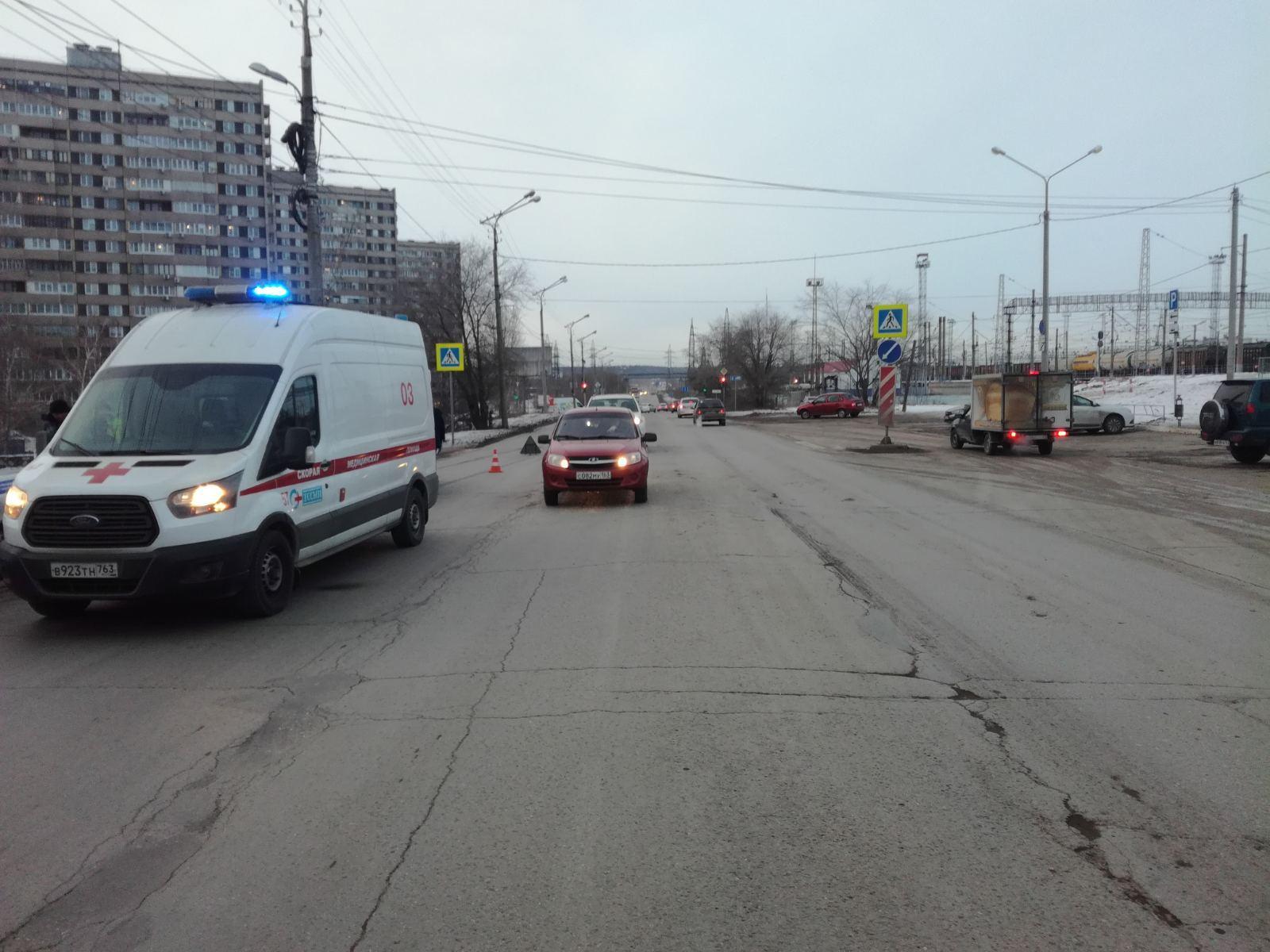 В Тольятти 11-летняя девочка пострадала под колесами «Гранты»