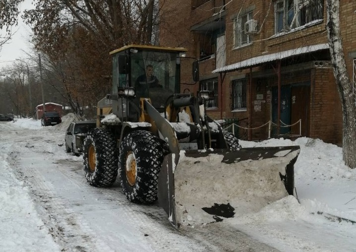 В Самарской области усилен контроль за уборкой снега и наледи