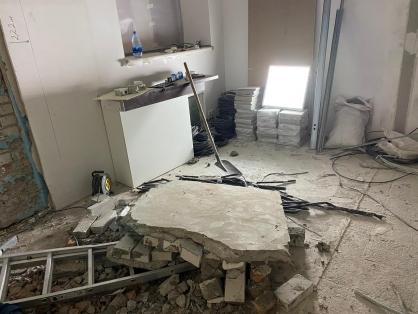 В Самаре обрушилась стена дома. Погиб мужчина