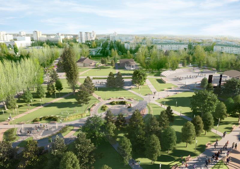 Концепцию развития Центрального парка Тольятти обсудили на публичных слушаниях