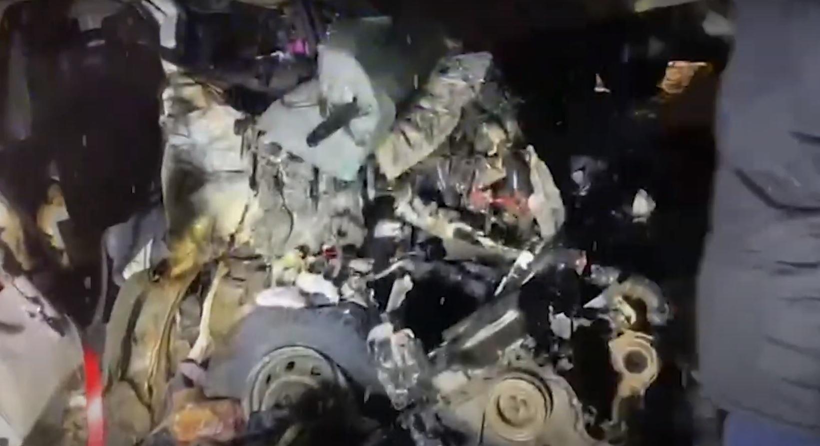 Погибли 12 человек: опубликовано видео с места страшной аварии на М-5 в Самарской области