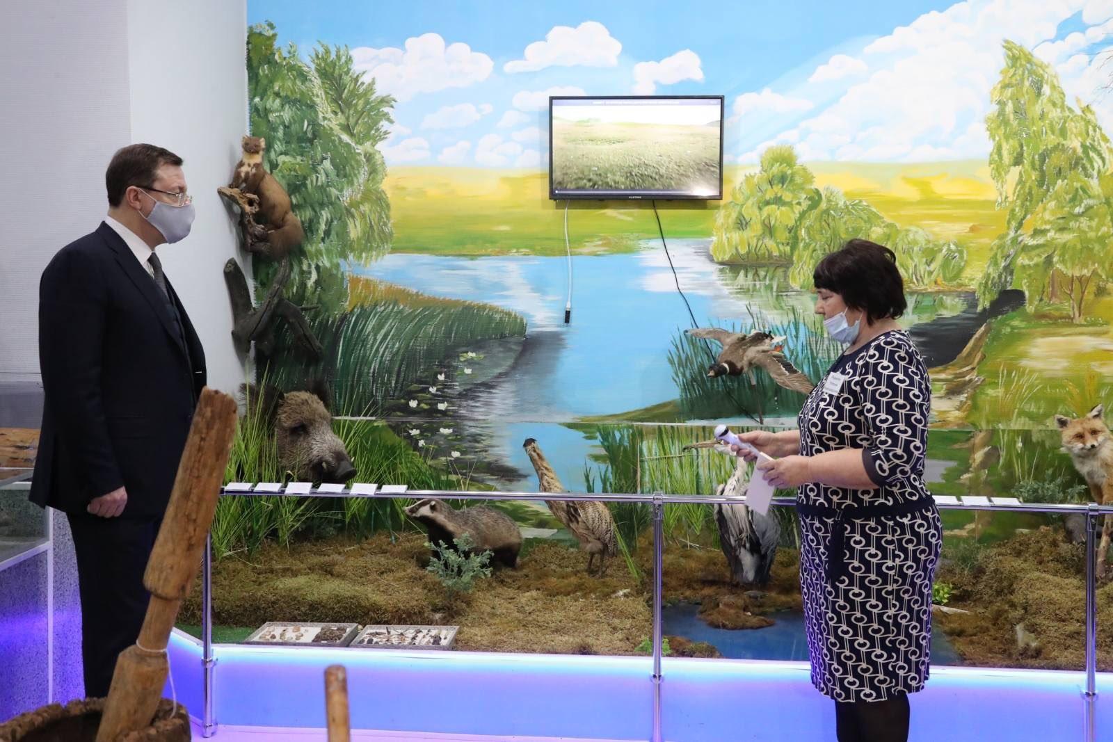 В Самарской области благодаря губернаторскому проекту обновляют музеи и создают парки