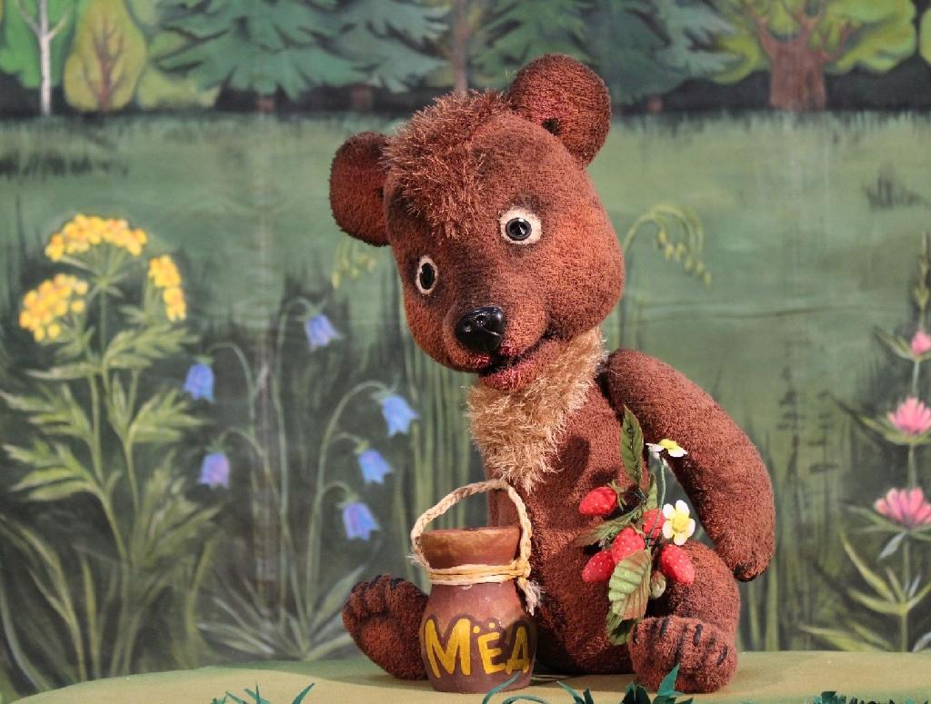 Спектакль «Про медвежонка»