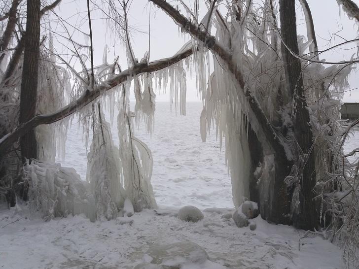 В Самарской области морозы побили рекорд 1945 года