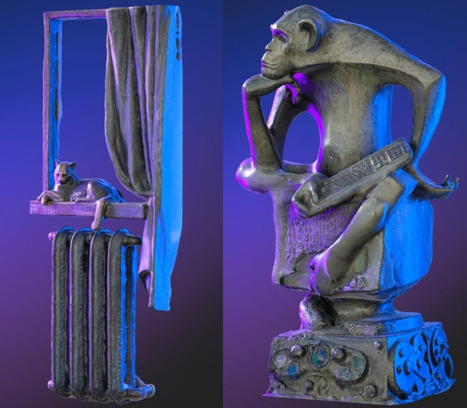 Два памятника из Самарской области вошли в число самых необычных скульптур страны