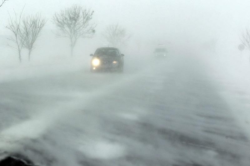 Тольятти накроют метель и сильный снегопад