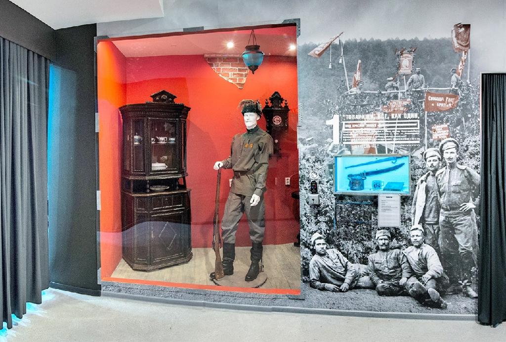 Историческая экспозиция «20 век: Ставрополь-Тольятти»