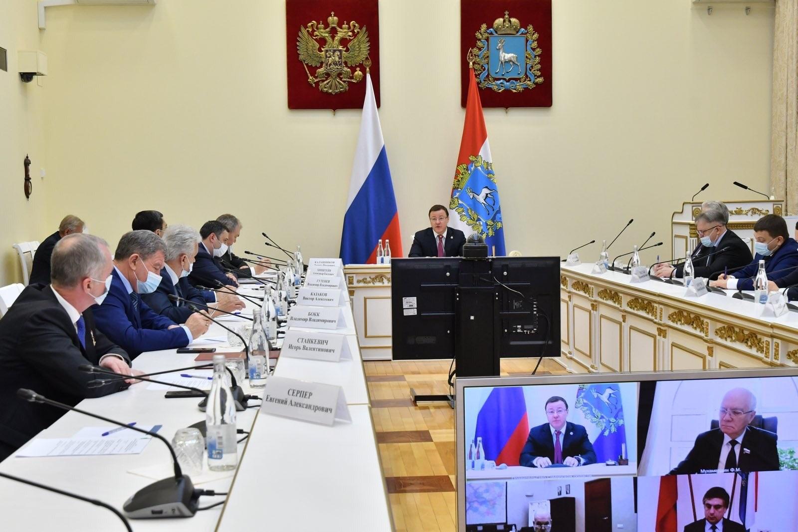 Самарская область подготовит важные вопросы к Правительственному часу в Госдуме