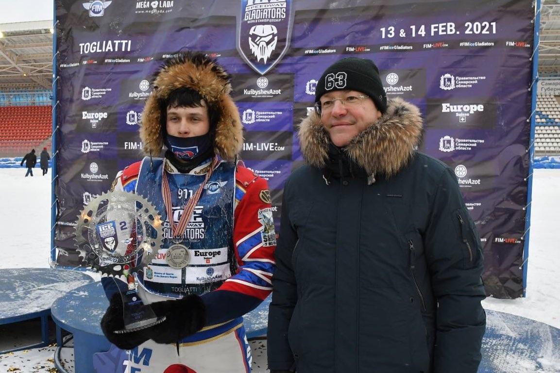 Тольяттинец Игорь Кононов стал вице-чемпионом мира по мотогонкам на льду