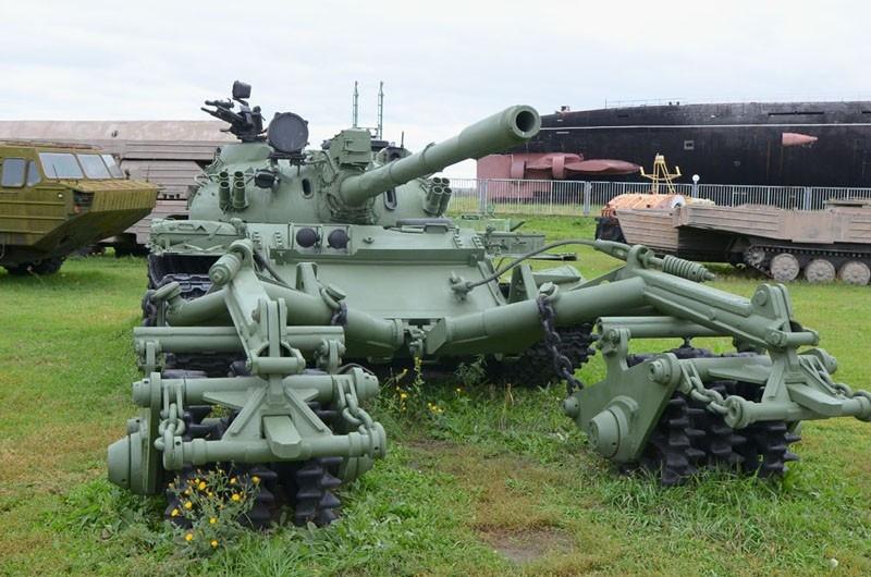 Танк Т-55 из собрания Паркового комплекса истории техники имени Сахарова