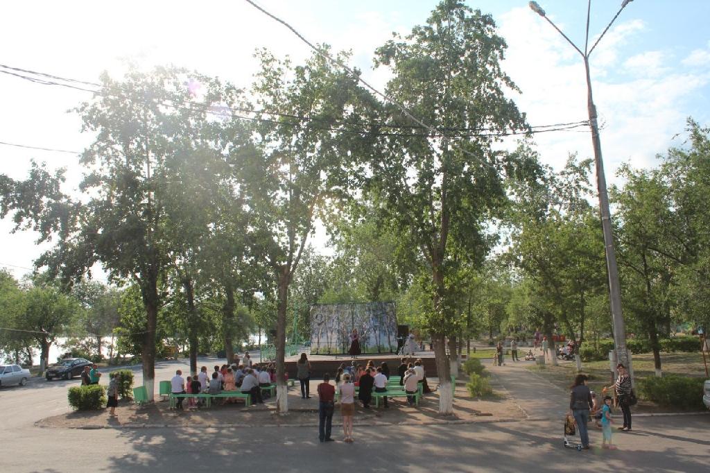 Сквер Досугового центра «Русич»