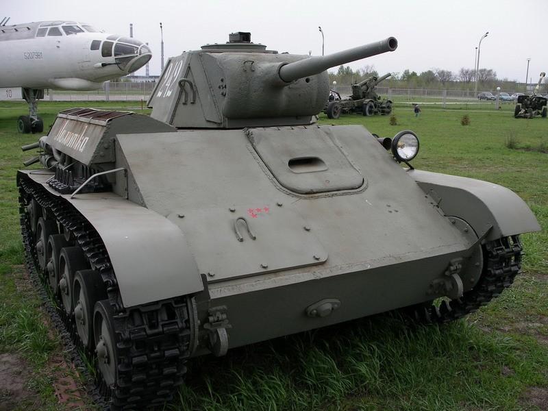 Рубрика Военный экспонат. Выпуск № 5 (Легкий танк T-70)