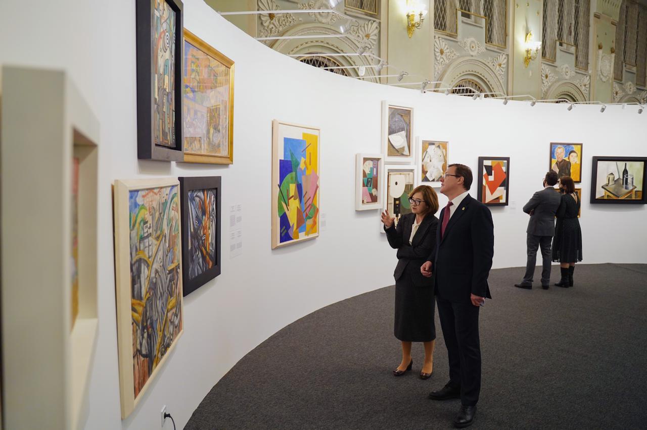 В художественном музее открылся новый проект Самарской области и Третьяковской галереи