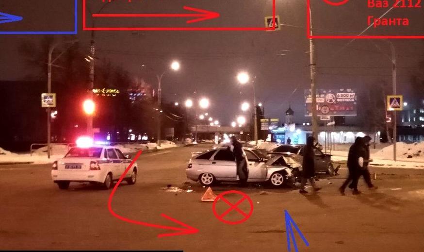 В Тольятти ребенок пострадал в столкновении машин на перекрестке
