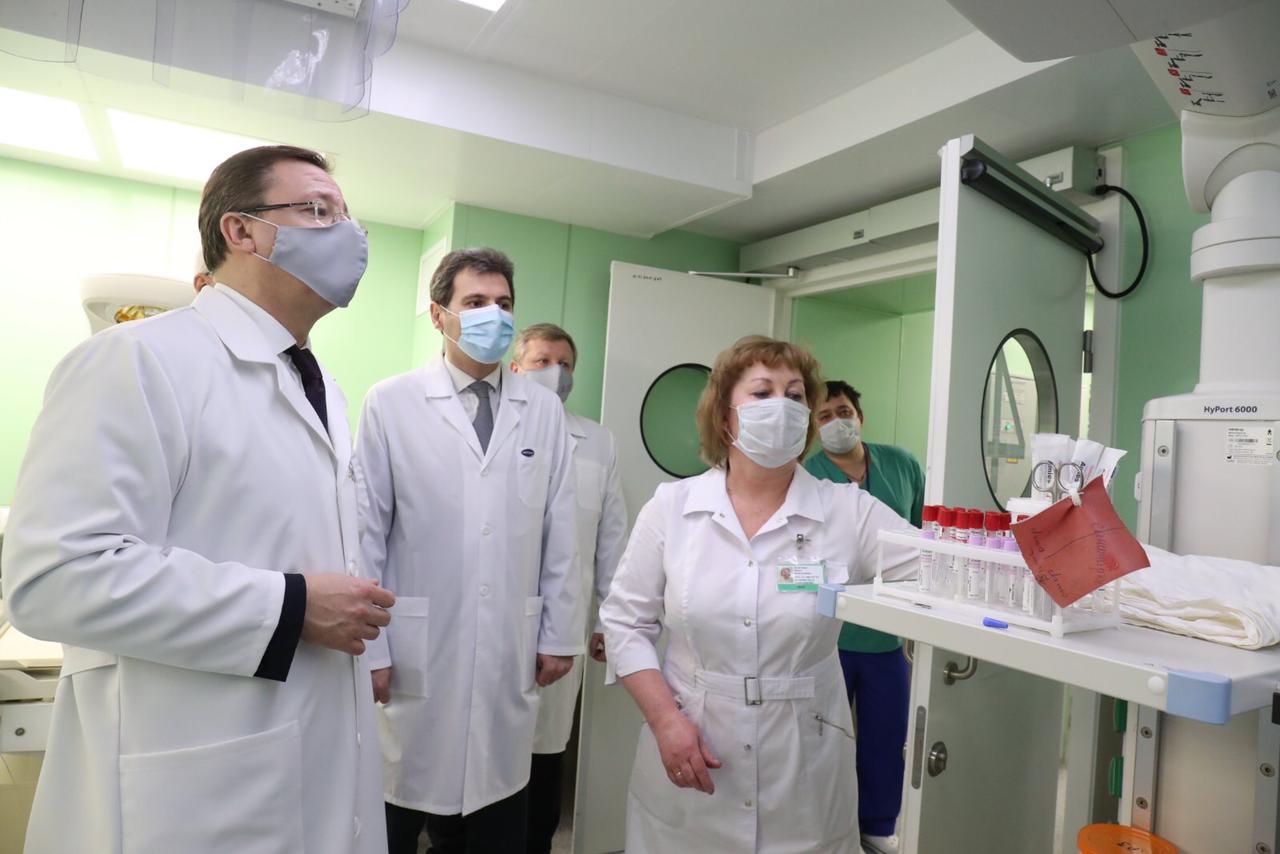 Дмитрий Азаров встретился с коллективом перинатального центра в Тольятти