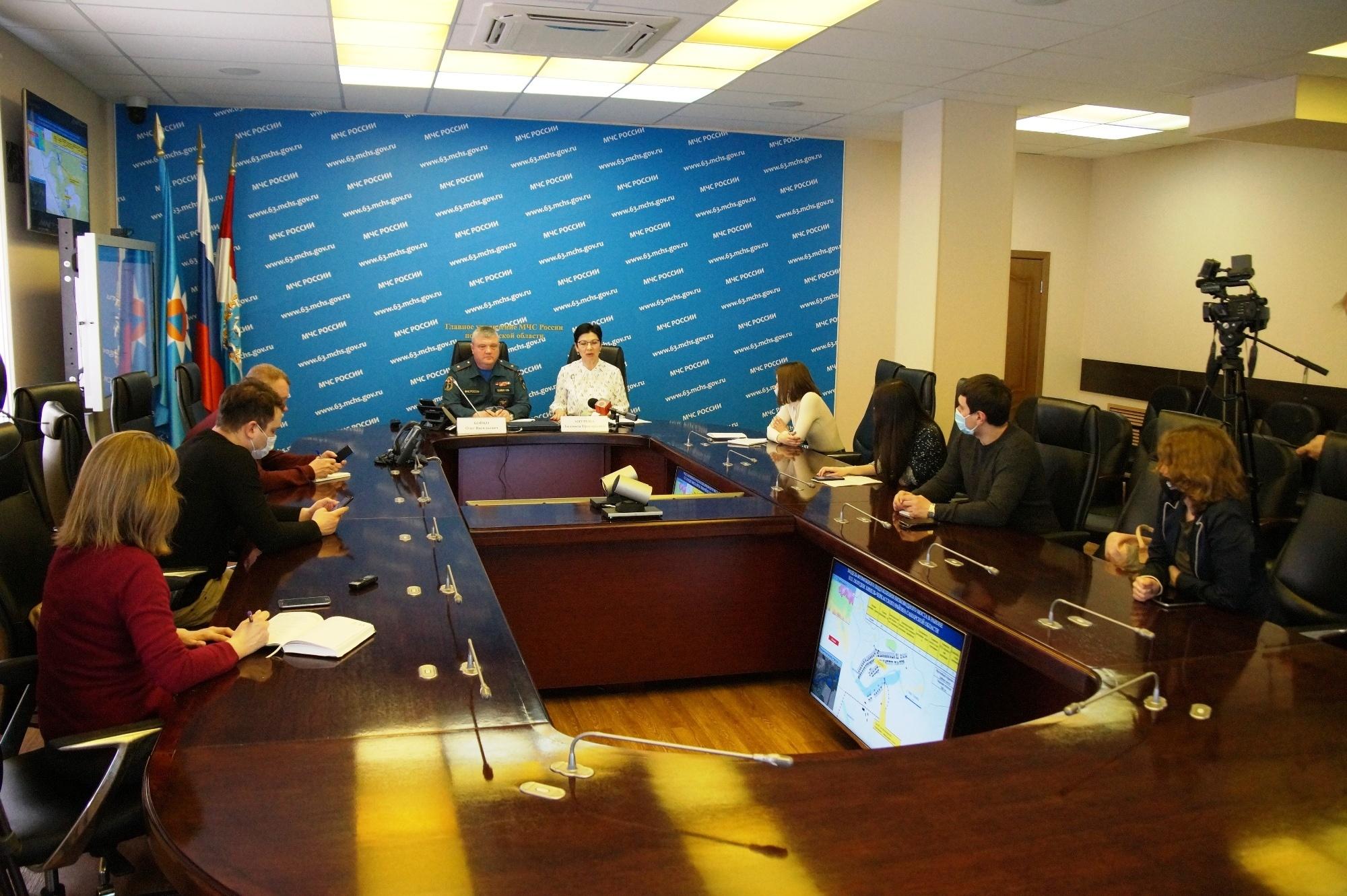 В Самарской области есть риски подтопления 30 населенных пунктов