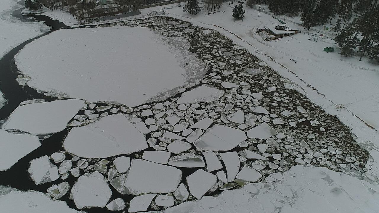 На водоемах Самарской области усилят контроль за выходом людей на лед