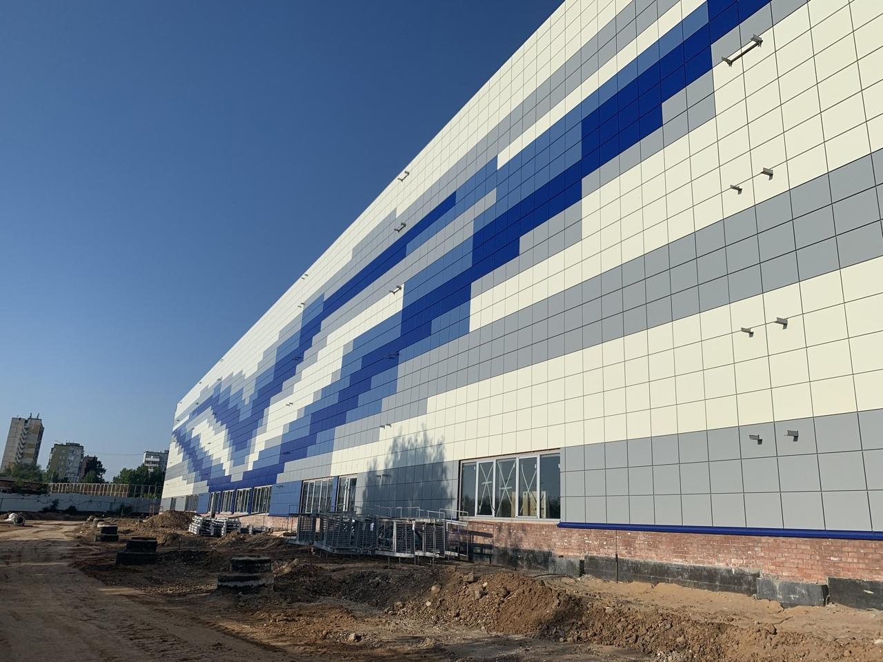 В Тольятти завершают строительство нового спортивного объекта