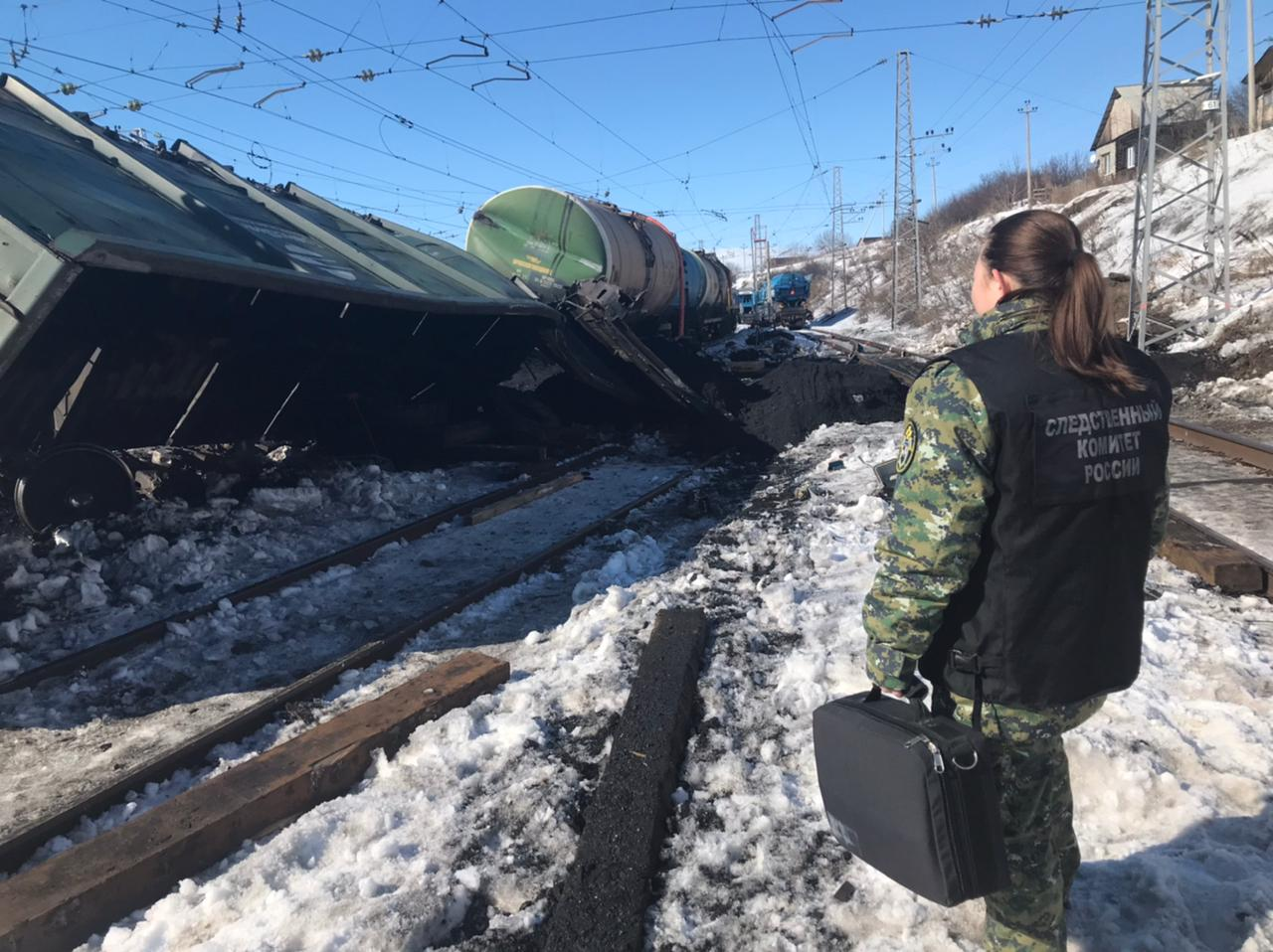 После схода с рельс вагонов в Самарской области возбуждено уголовное дело