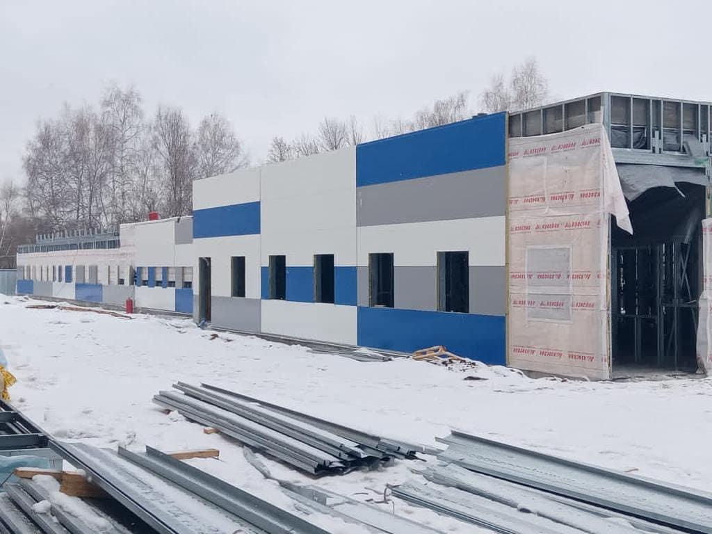 В Тольятти строят новый корпус для пациентов с COVID-19